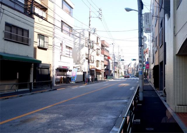 Jalan raya di Tokyo