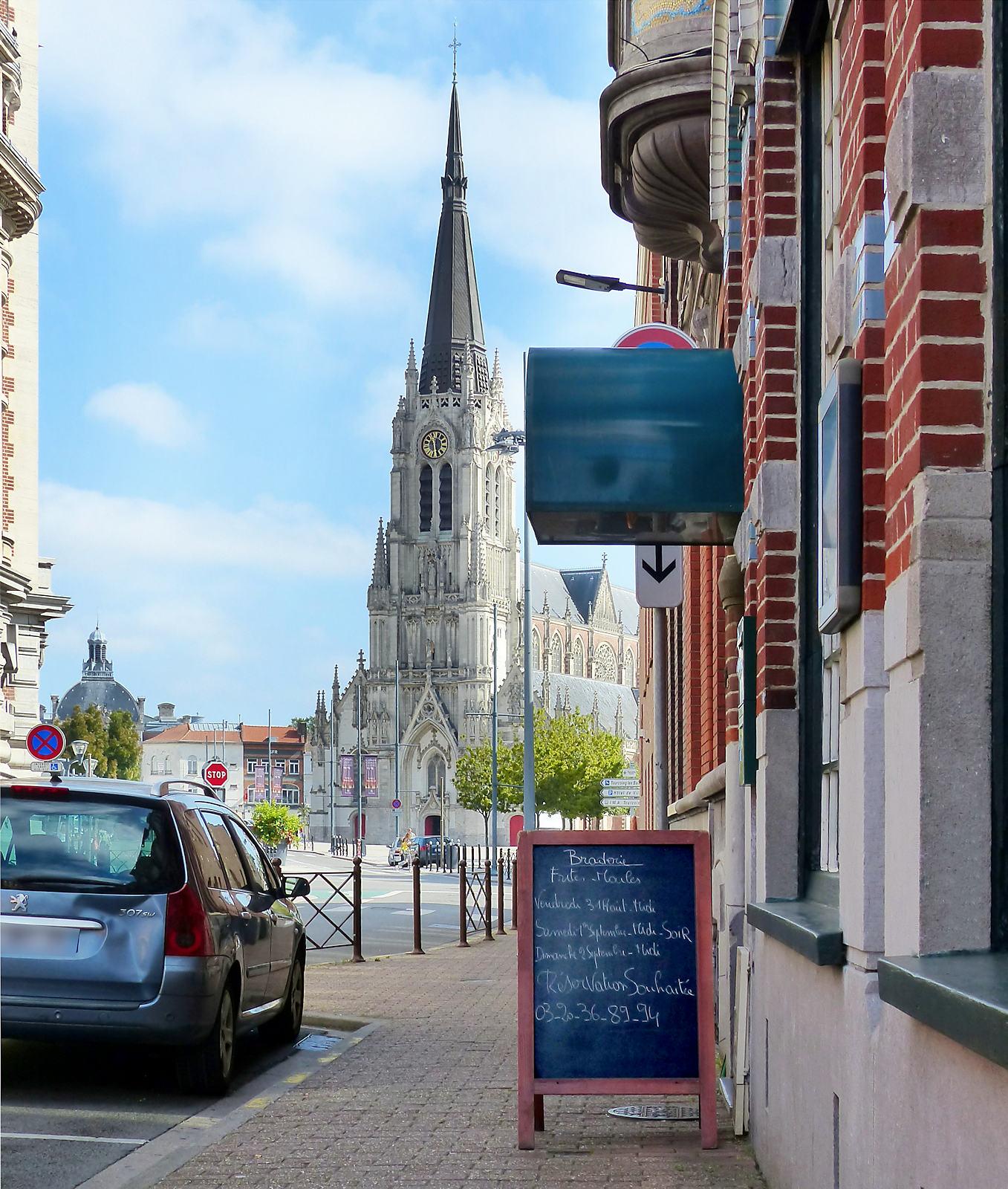 Restaurant donnant sur l'hypercentre de Tourcoing