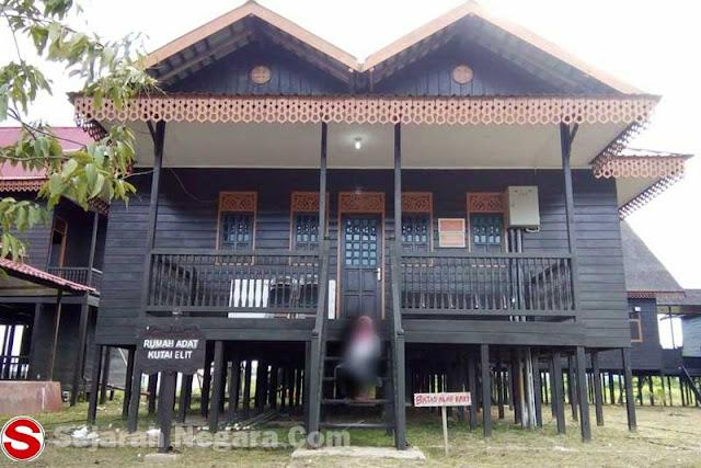Gambar Rumah adat Kutai Kalimantan Timur