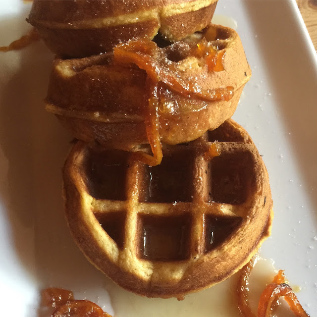 Jennuine by Rook No. 17*: Recipe: Pumpkin Brown Sugar Belgian Waffles