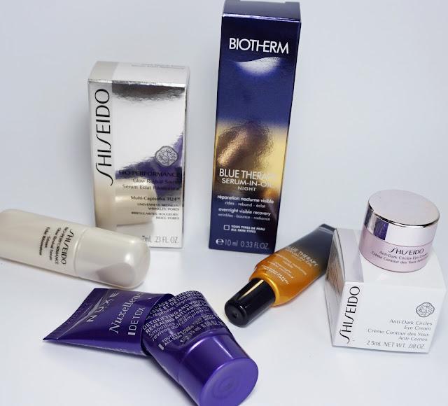 Aufgebrauchte Kosmetik - März 2016 Luxusproben
