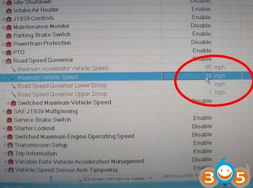 cummins-insite-change-speed-paramètres-7