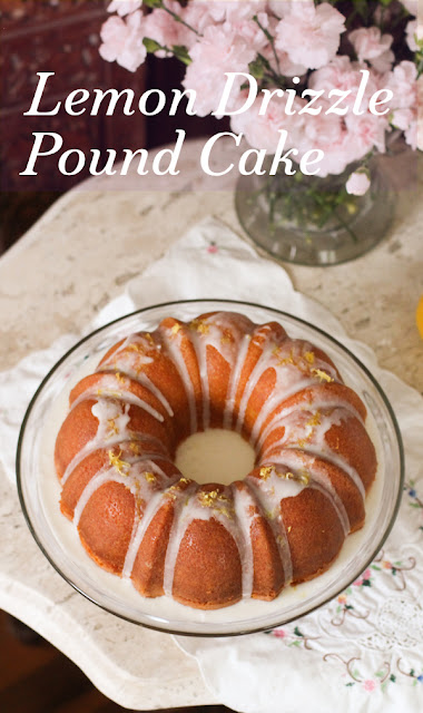 Food Lust People Love: Pound cake is one of the most dependable cakes you can make for any party or occasion. It's simple but elegant and everybody likes it, especially if it's as moist and lemony as this one is. The bright as sunshine taste of lemon with the additional tang of yogurt makes this traditional lemon drizzle pound cake a constant favorite.