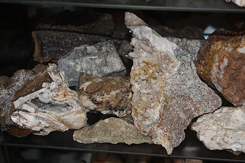 Minerale aus Kamsdorf und Weitisberga