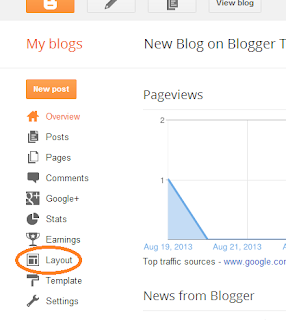 Add Google Translate Widget on Blogger