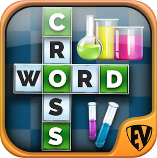 logo aplikasi game chemistry crossword puzzle