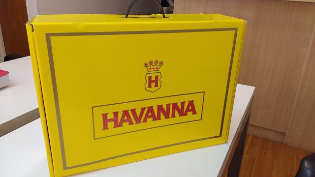 caja Havanna alfajores