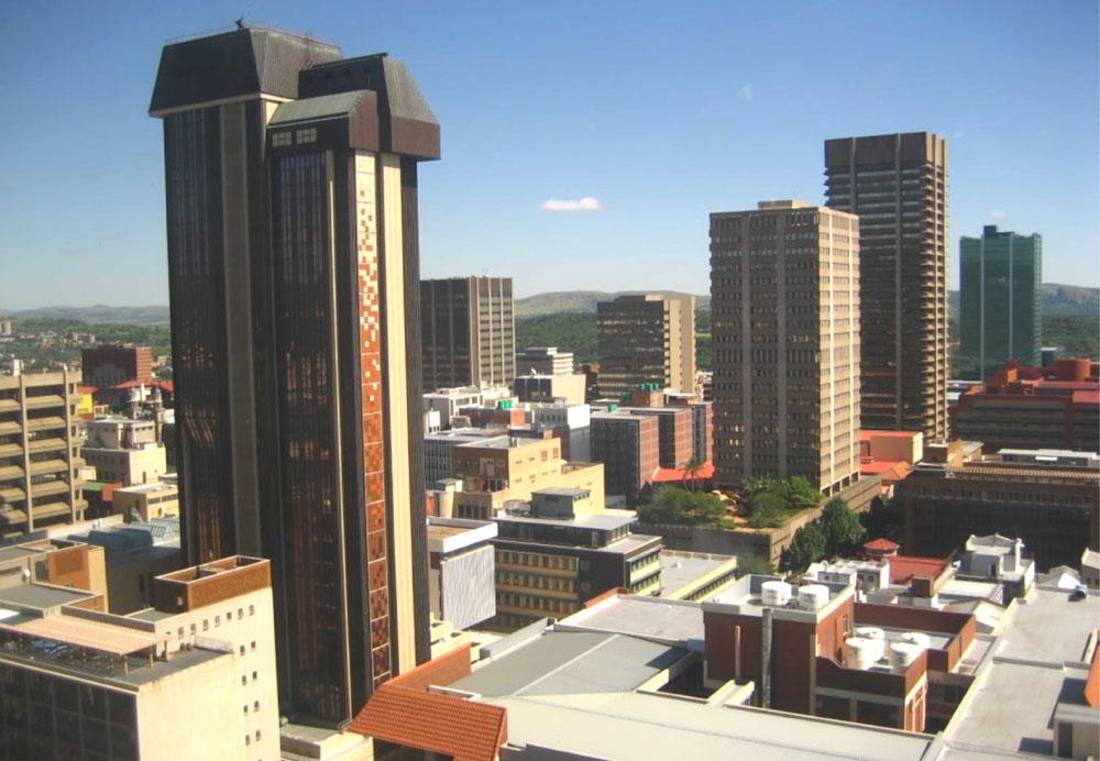Pretoria, Afrika e Jugut