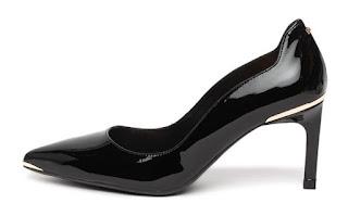 Ted Baker - Дамски кожени Обувки с лачен ефект