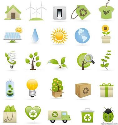 Descargar iconos estilo ecológicos