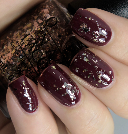 OPI Gaining Mole-Mentum from the 2014 OPI Muppets Most Wanted Collection