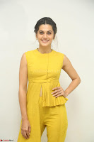 Taapsee Pannu looks mesmerizing in Yellow for her Telugu Movie Anando hma motion poster launch ~  Exclusive 118.JPG