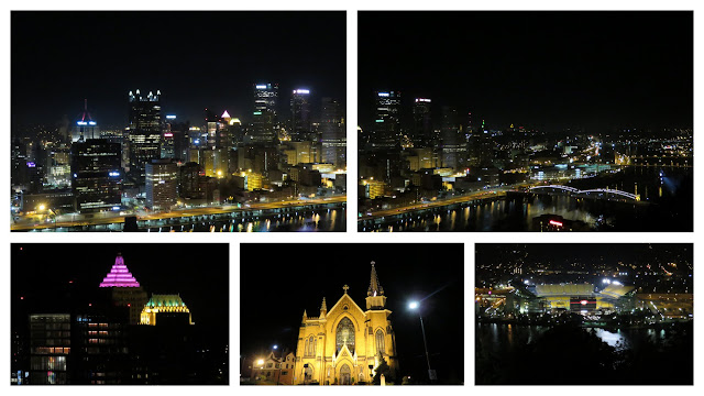 Fun things to do in Pittsburgh: Mount Washington at Night