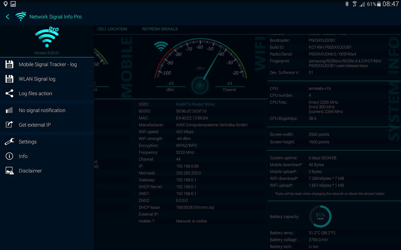 Network Signal Info Pro v5 06 06 APK [Patched]   Novahax