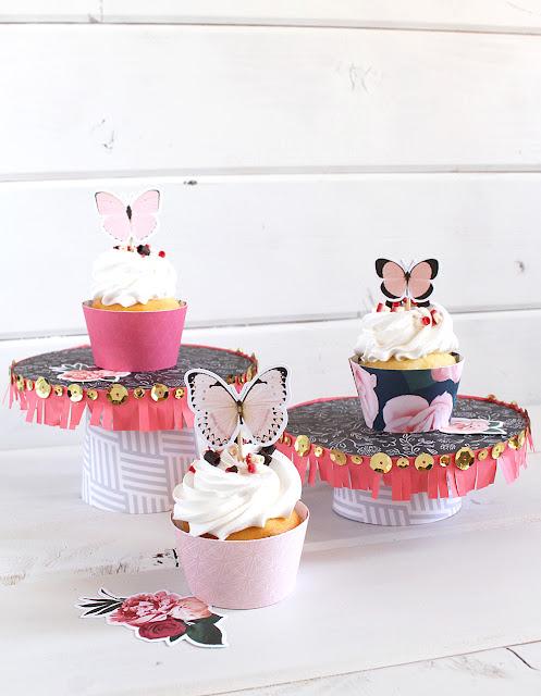 Stands Cupcake Mess Beautiful