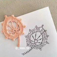 Patrón #1804: Figuras a Crochet -B