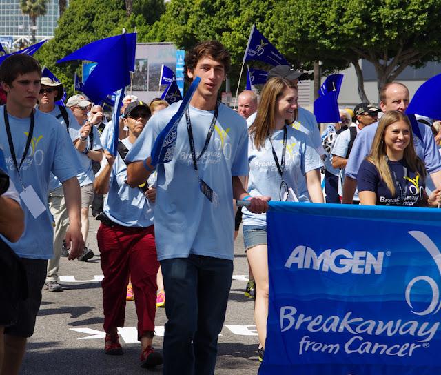 Breakaway from Cancer walk