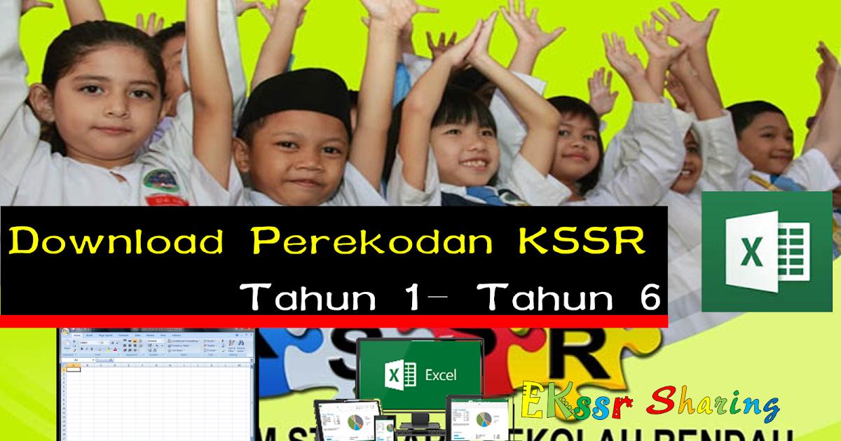 Download Perekodan Kssr Tahun 1 Tahun 6 Mykssr Com