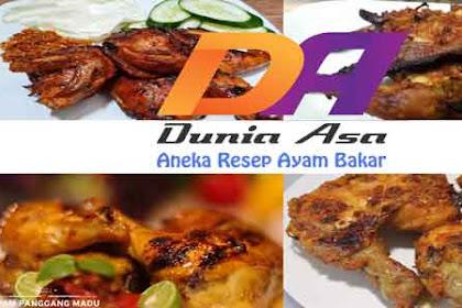 Varian Aneka Resep Ayam Bakar untuk Keluarga di Rumah