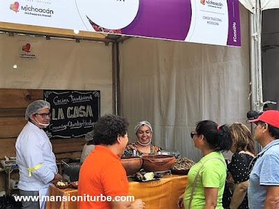 Blanca Villagomez, Cocinera Tradicional de Michoacán en Comali, Festival de la Cocina Mexicana