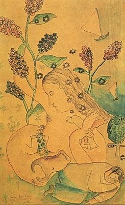 Sonhos - Cícero Dias e suas principais pinturas ~ Pintor pernambucano