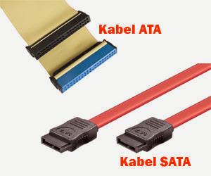 Perbedaan Kabel ATA dan SATA