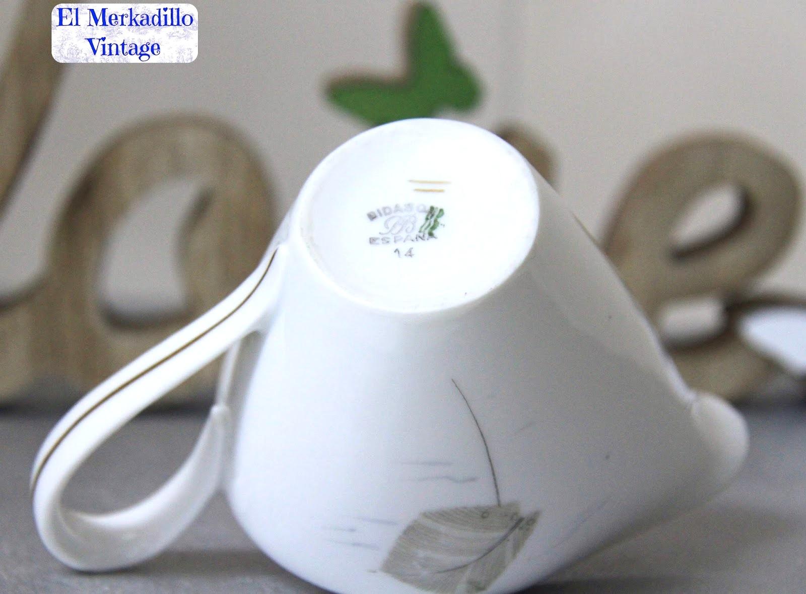 Jarrita vintage para leche de porcelana bidasoa ref 0395 for Jarra leche