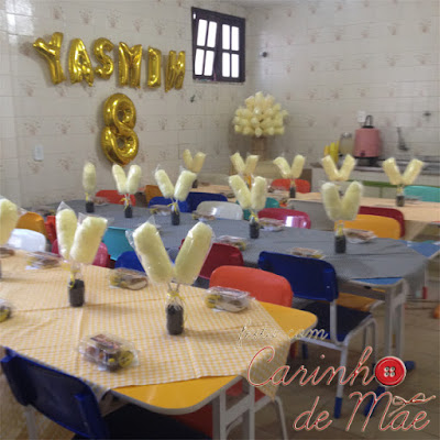 festa carrossel decoração