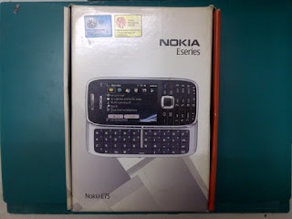 Dus Nokia E75 Seken