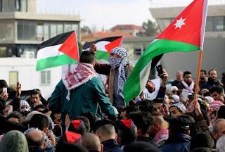 οι κινητοποιήσεις διαμαρτυρίας για την αναγνώριση της Ιερουσαλήμ ως πρωτεύουσας του Ισραήλ