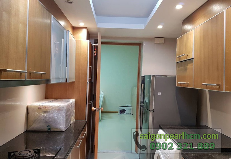 Căn hộ cho thuê Saigon Pearl 2 phòng ngủ - bếp