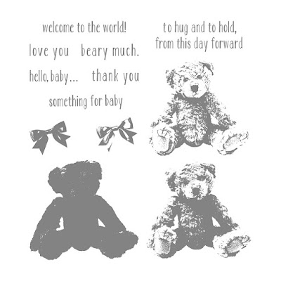 Baby Bear Photopolymer Stamp Set, Stampin' Up!
