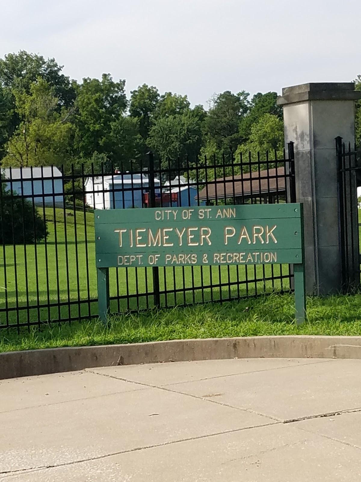 Play St Louis Tiemeyer Park St Ann