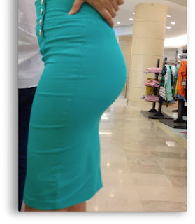 Video sexy chava vestido entallado