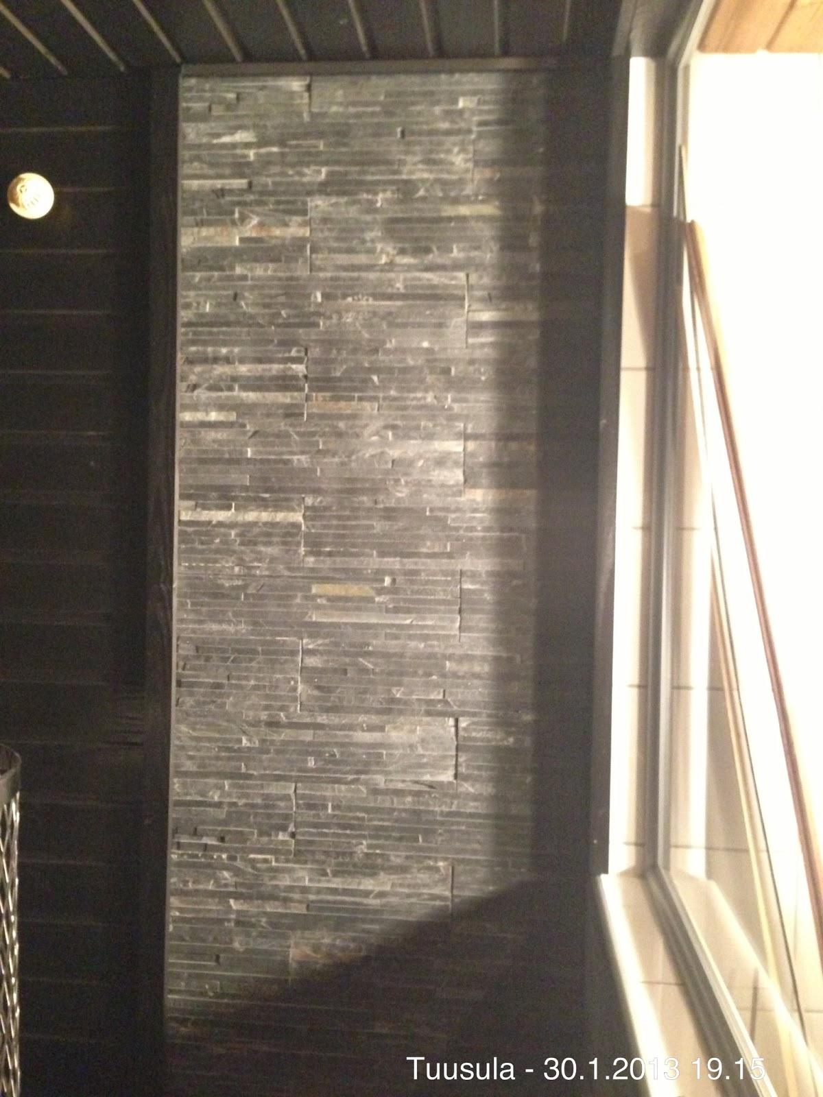 saunan katon panelointi vanhan päälle