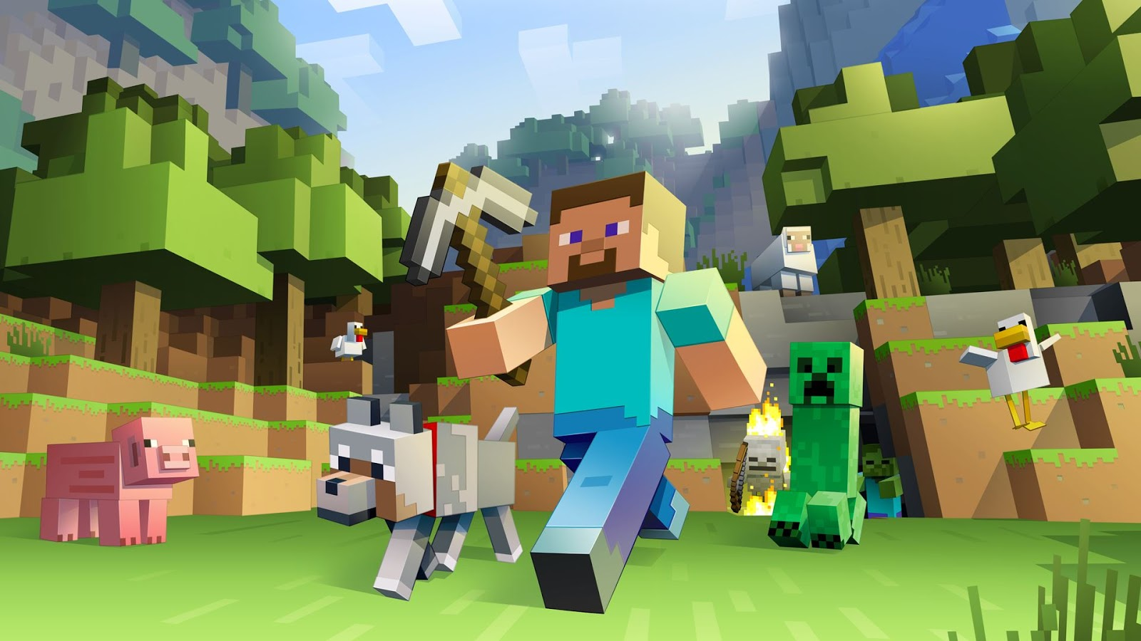 Minecraft: Wii U Edition está vindo por aí e será lançado ainda