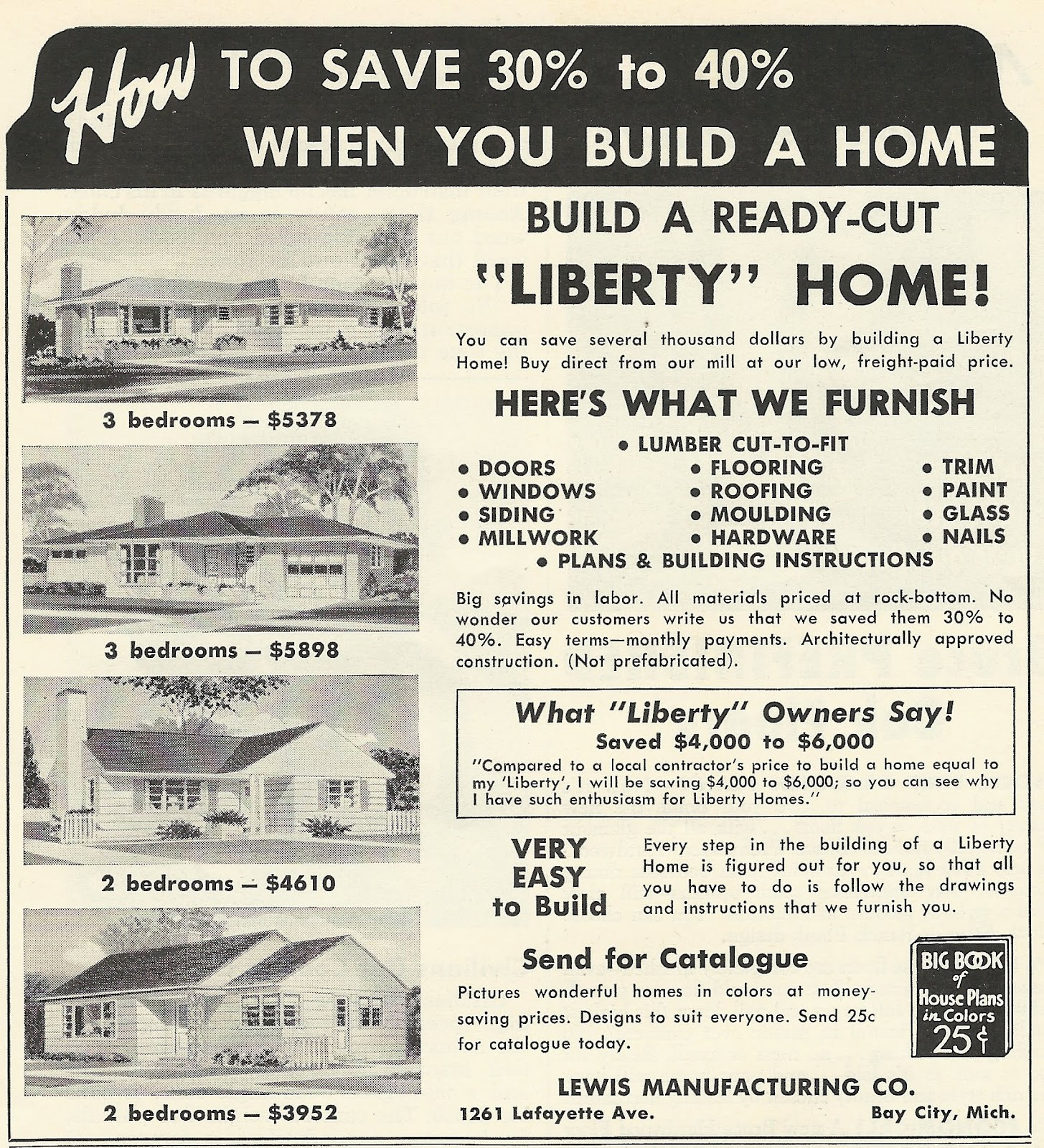 Old Ads Are Funny: 1956 Ad: Build a Ready-Cut
