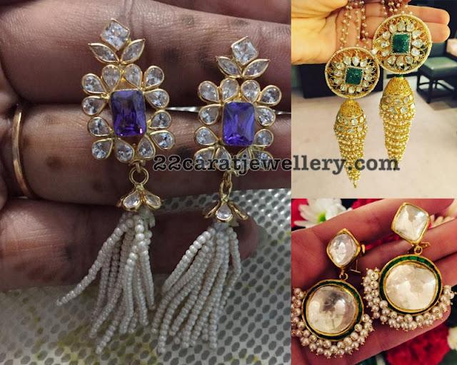 Extraordinary Kundan Diamond Earrings