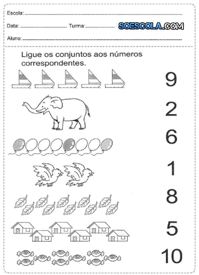 Atividades De Matemática Para Séries Iniciais Prontas Para Imprimir