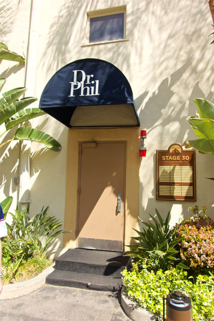 Dr. Phil set on the Paramount Studio Tour - Hollywood, CA