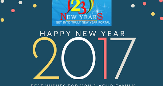 Happy New Year 2017- Countdown for Fresh Beginning