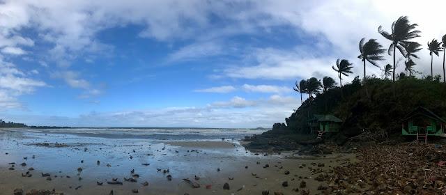 Tinago Beach at Brgy. Camagsaan, Calaponga, Camarines Norte