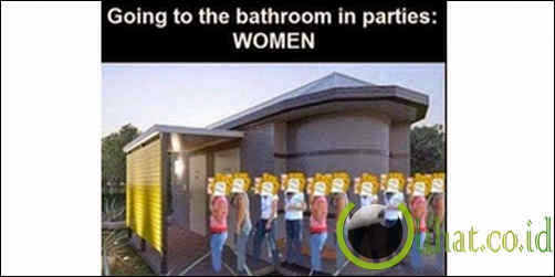Cewek Antri WC
