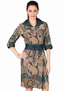 Model Baju Batik Formal Wanita Untuk Kerja Terbaru