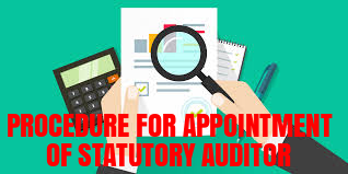 Procedure-Appointment-Auditor