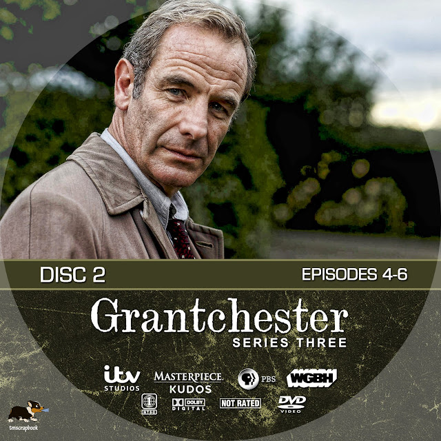 Grandchester Season 3 Disc 2 DVD Label