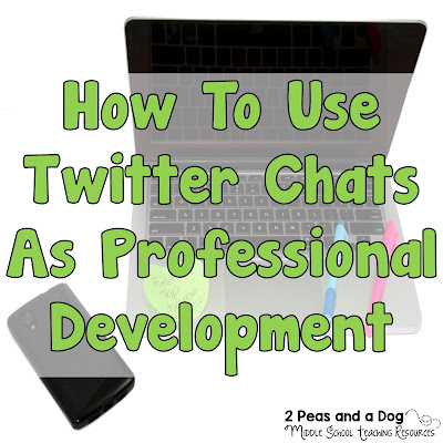 An informative blog post about how to use a Twitter chat for professional growth and development from the 2 Peas and a Dog blog.