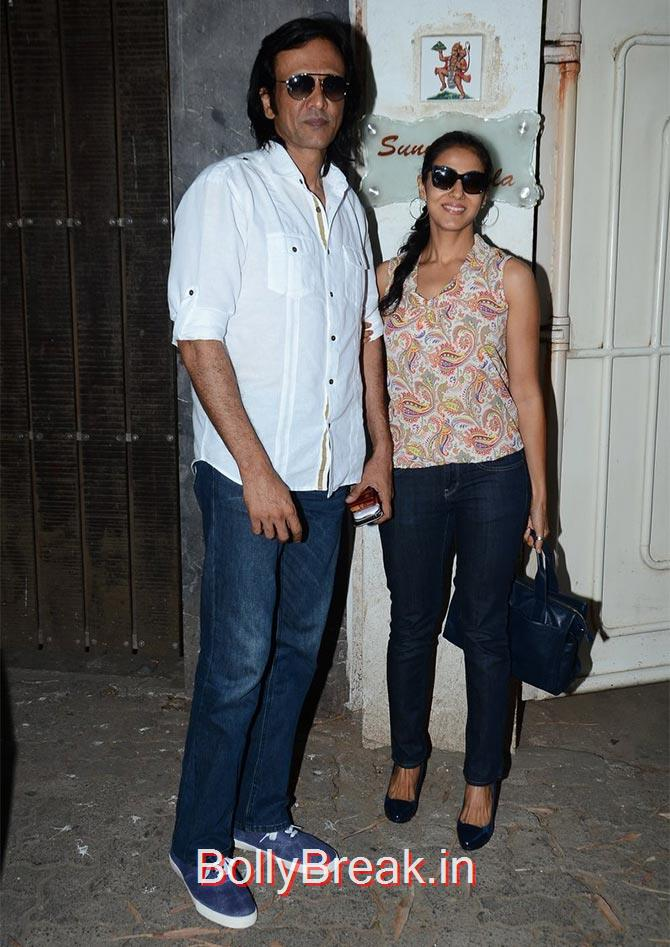 Kay Kay Menon,,  Nivedita Bhattacharya, Anushka Sharma Hot Pics At Bombay Velvet screening