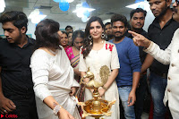 Samantha Ruth Prabhu Smiling Beauty in White Dress Launches VCare Clinic 15 June 2017 059.JPG
