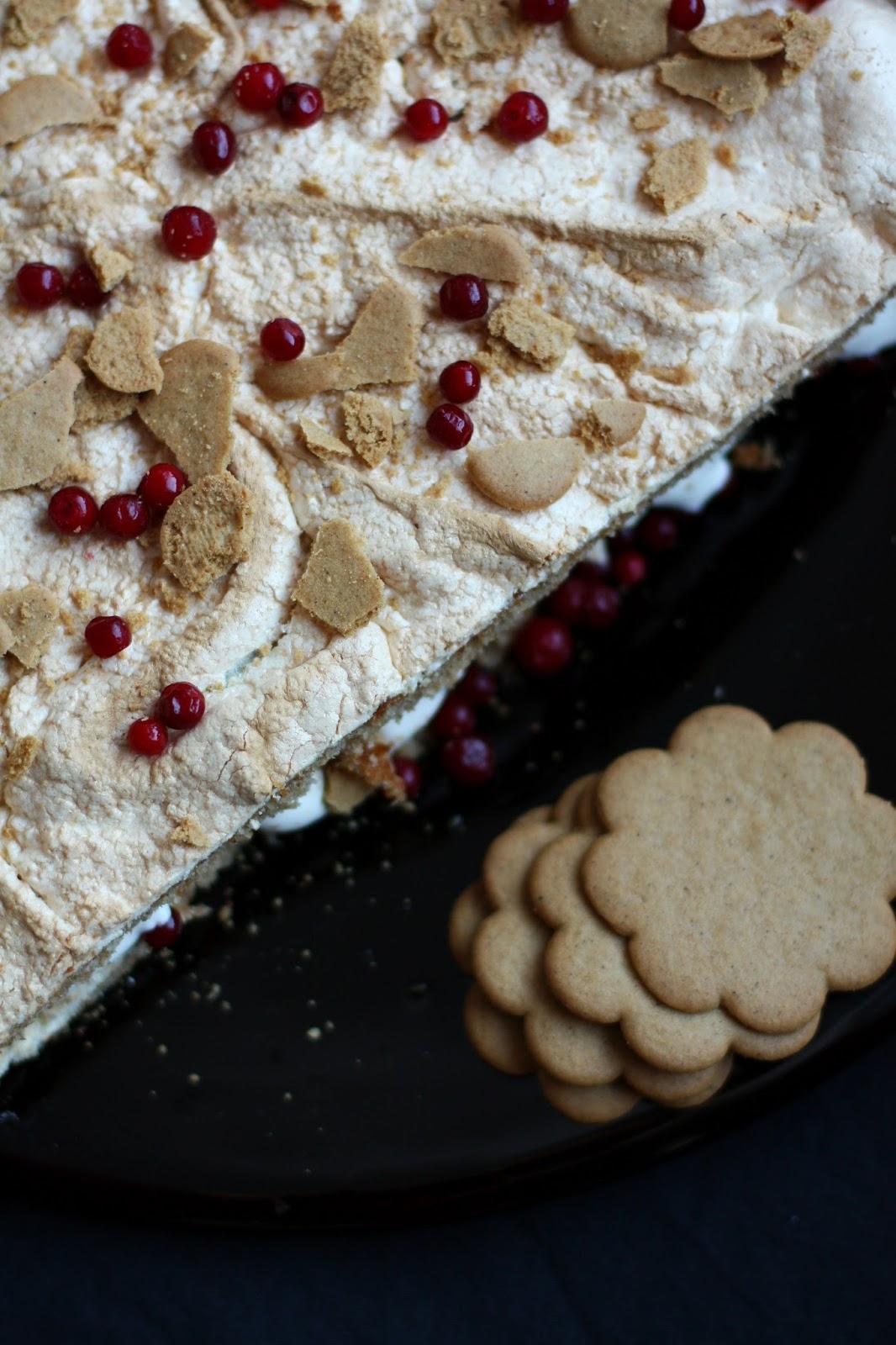 piparibrita britakakku piparkakku joulu leivonta mallaspulla ruokablogi marenki puolukka